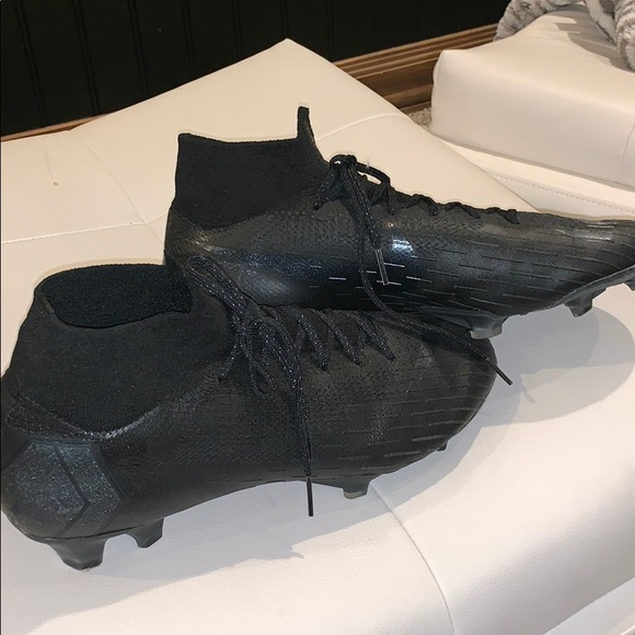 separation shoes 494f2 1c494 Nike Mercurial Super-fly 360 Black NWT